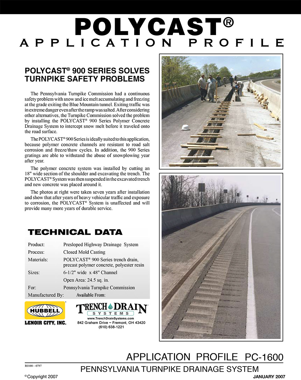Trench Drain Systems Grating