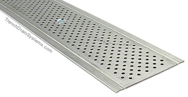 SS600 with stainless perforated grate