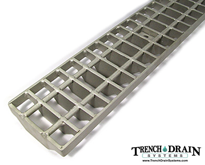 Stainless steel bar grating for Polycast