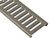 ABT 2440 slotted stainless steel grate - class B