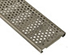 ABT 2454 reinforced stainless perforated drain grate - heelproof