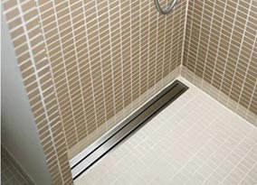 Custom Stainless Shower Drain By TDS