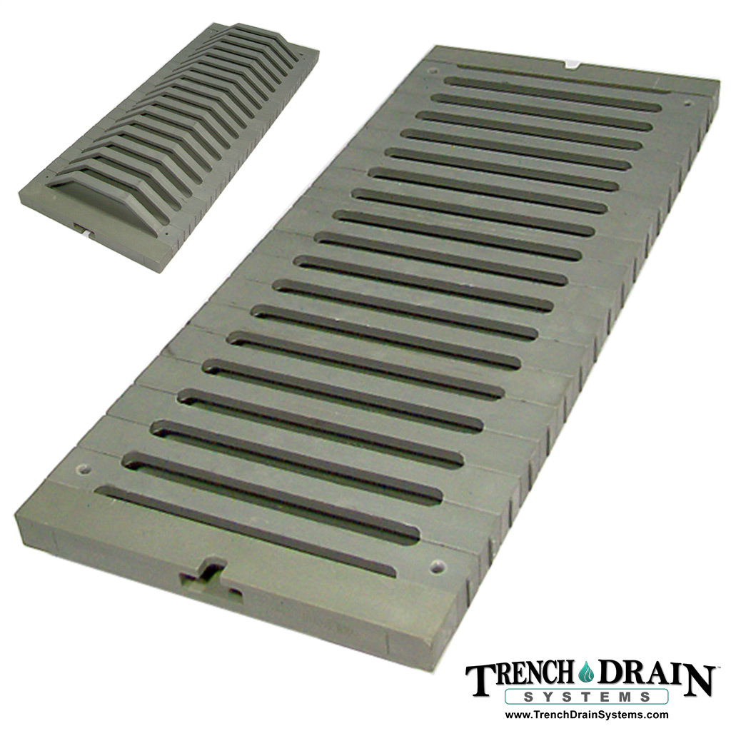 Trench Drain Systems Plastic Grating