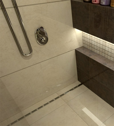 Good QuickDrain Shower Drain