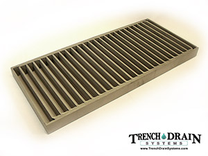 Stainless steel heavy duty grate