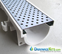 Trench Drain Systems | Pool Trench Drains